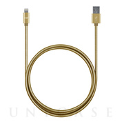 3ft Stainless Steel Lightning Cables (Gold)