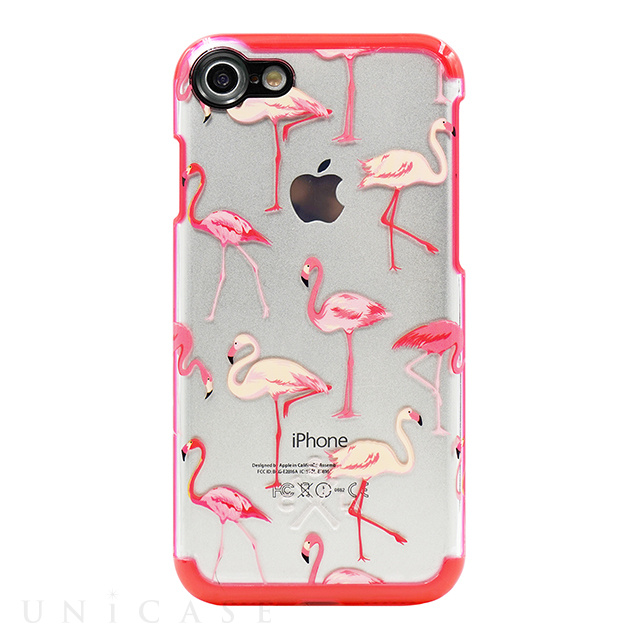 【iPhone8/7 ケース】Case Study Clear Case (Flamingo)