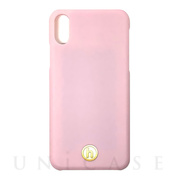 【iPhoneXS/X ケース】Phone Case (Paris Bubble Pink Silk)