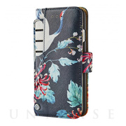 【iPhoneX ケース】Wallet Case (Sydney Stylish Birds)