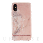【iPhoneXS/X ケース】PINK MARBLE