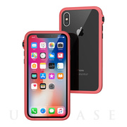 【iPhoneX ケース】Catalyst Impact Protection case (コーラルブラック)