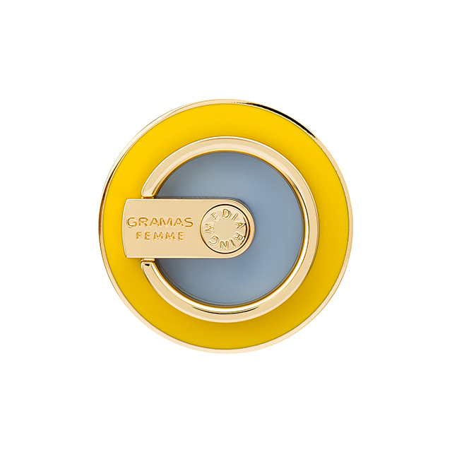 """MEDIARING"" for Smartphone Circle (Yellow × Blue Gray)サブ画像"