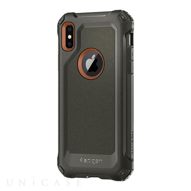 【iPhoneX ケース】Pro Guard (Army Green)