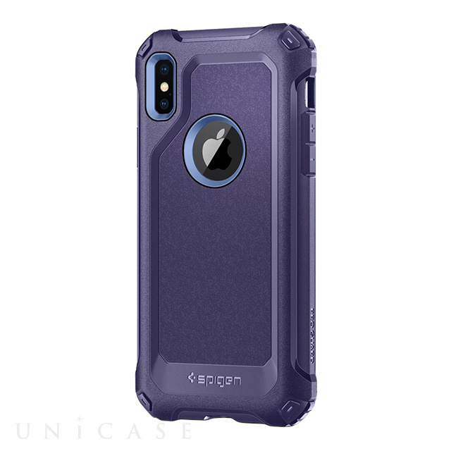 【iPhoneX ケース】Pro Guard (Deep Purple)