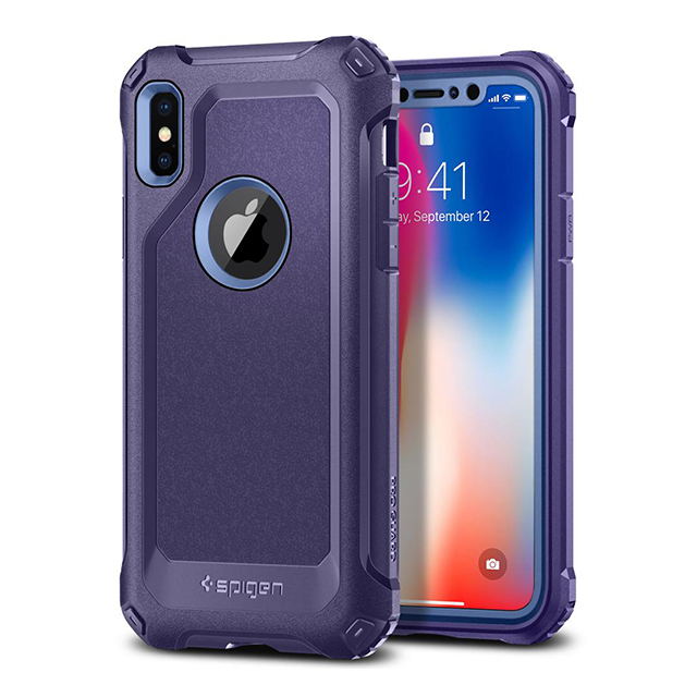 【iPhoneX ケース】Pro Guard (Deep Purple)サブ画像