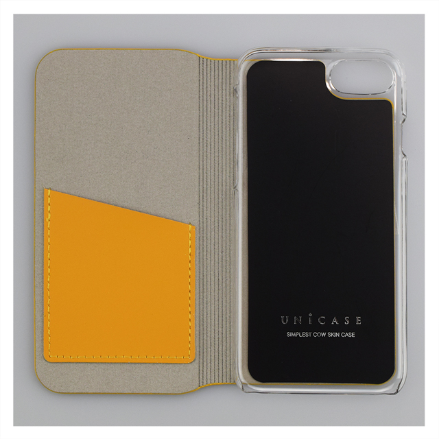 【iPhone8/7 ケース】SIMPLEST COWSKIN CASE for iPhone8/7(BLACK)サブ画像