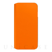 【iPhone8 Plus/7 Plus ケース】SIMPLEST COWSKIN CASE for iPhone8 Plus(ORANGE)