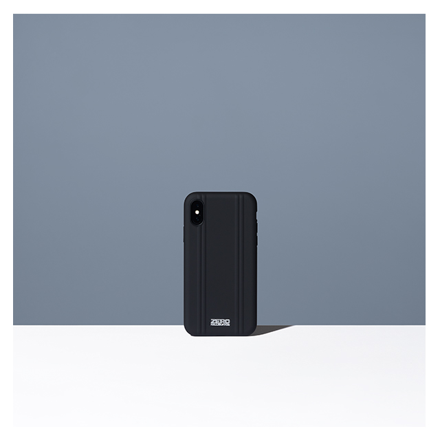 【iPhoneX ケース】ZERO HALLIBURTON Hybrid Shockproof case for iPhone X(MATTE BLACK)サブ画像