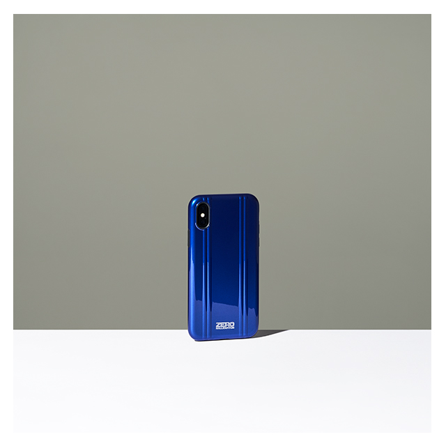 【iPhoneX ケース】ZERO HALLIBURTON Hybrid Shockproof case for iPhone X(BLUE)サブ画像
