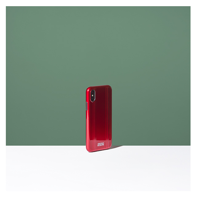 【iPhoneX ケース】ZERO HALLIBURTON Hybrid Shockproof case for iPhone X(RED)サブ画像