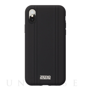 【iPhoneX ケース】ZERO HALLIBURTON Shockproof case for iPhone X(MATTE BLACK)