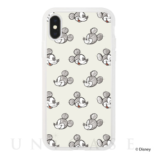 Disney Character / iPhone CASE(Pattern Ivory)
