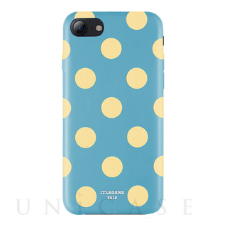 【iPhone8/7 ケース】Polka PU Leather Back Case (Banana Lagoon)