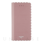 【iPhone8/7 ケース】Biscuit Cowhide Leather Flip case (Pink)
