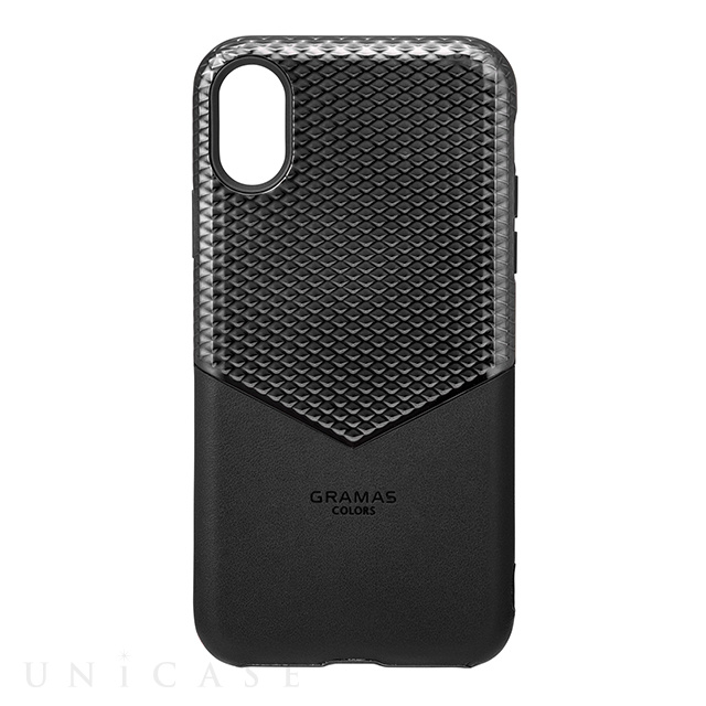 "【iPhoneXS/X ケース】""Edge"" Hybrid Case (Black)"