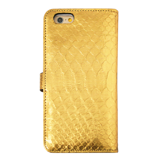 【アウトレット】【iPhone6s/6 ケース】PYTHON Diary Gold for iPhone6s/6サブ画像