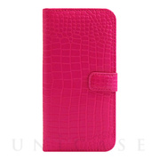 【アウトレット】【iPhone6s/6 ケース】COWSKIN Diary Pink×ALLIGATOR for iPhone6s/6