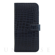 【アウトレット】【iPhone6s/6 ケース】COWSKIN Diary Navy×ALLIGATOR for iPhone6s/6