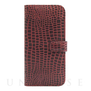 【アウトレット】【iPhone6s/6 ケース】COWSKIN Diary Campari×ALLIGATOR for iPhone6s/6