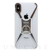 【iPhoneX ケース】X Ring (NAKED SILVER)