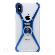 【iPhoneX ケース】X Ring (INDIGO BLUE)