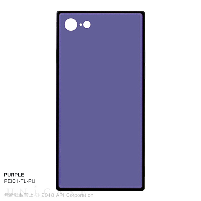 【iPhone8/7 ケース】TILE (PURPLE)
