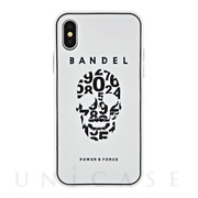【iPhoneX ケース】iPhoneX case skull (White×Black)
