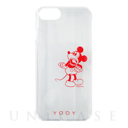 【iPhone8/7/6s/6 ケース】DISNEY/REACTION/MICKEY iPhone CASE (RD)