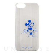 【iPhone8/7/6s/6 ケース】DISNEY/REACTION/MICKEY iPhone CASE (BL)