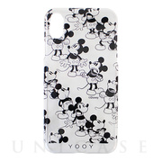 【iPhoneXS/X ケース】DISNEY/CHAIN/MICKEY iPhone CASE (BK)