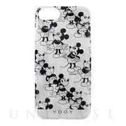 【iPhone8/7/6s/6 ケース】DISNEY/CHAIN/MICKEY iPhone CASE (BK)