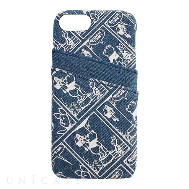【iPhoneSE(第2世代)/8/7/6s/6 ケース】DISNEY/PRINT/POOH iPhone CASE (BL)