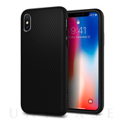 【iPhoneX ケース】Liquid Air (Matte Black)