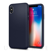 【iPhoneX ケース】Liquid Air (Midnight Blue)
