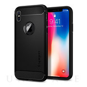 【iPhoneX ケース】Rugged Armor (Matte Black)