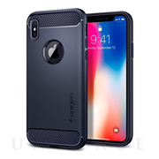 【iPhoneX ケース】Rugged Armor (Midnight Blue)