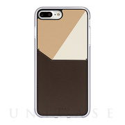 【iPhone8 Plus/7 Plus ケース】BON (Brown)