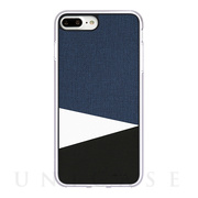 【iPhone8 Plus/7 Plus ケース】Tapis2 (Blue)