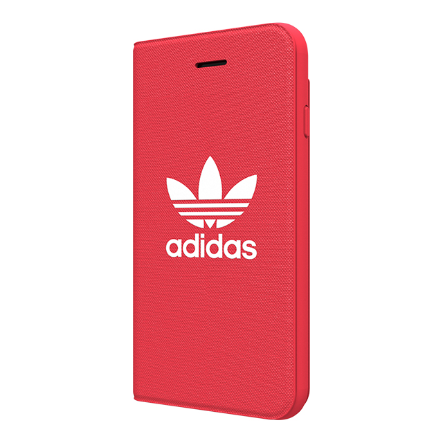 【iPhone8/7/6s/6 ケース】adicolor Booklet Case (Red)