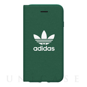 【iPhone8/7/6s/6 ケース】adicolor Booklet Case (Green)