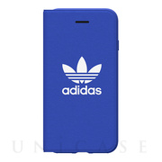 【iPhoneSE(第2世代)/8/7/6s/6 ケース】adicolor Booklet Case (Blue)