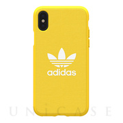 【iPhoneXS/X ケース】adicolor Moulded Case (Yellow)