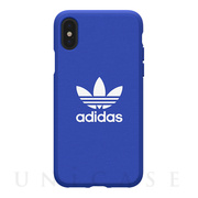 【iPhoneXS/X ケース】adicolor Moulded Case (Blue)