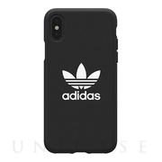 【iPhoneXS/X ケース】adicolor Moulded Case (Black)