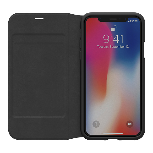 【iPhoneXS/X ケース】adicolor Booklet Case (Black)goods_nameサブ画像