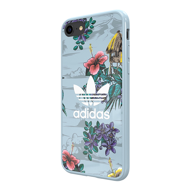 【iPhone8/7/6s/6 ケース】Snap case (Floral/Ash Grey)サブ画像
