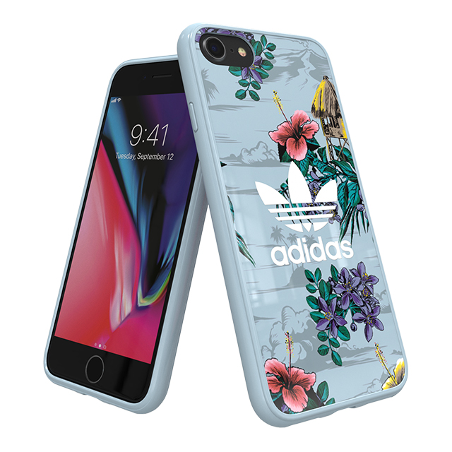 adidas(アディダス) 【iPhone8/7/6s/6 ケース】Snap case (Floral/Ash Grey)