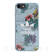 【iPhoneSE(第2世代)/8/7/6s/6 ケース】Snap case (Floral/Ash Grey)