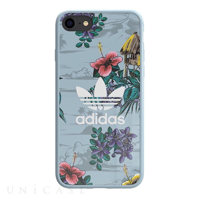 【iPhone8/7/6s/6 ケース】Snap case (Floral/Ash Grey)